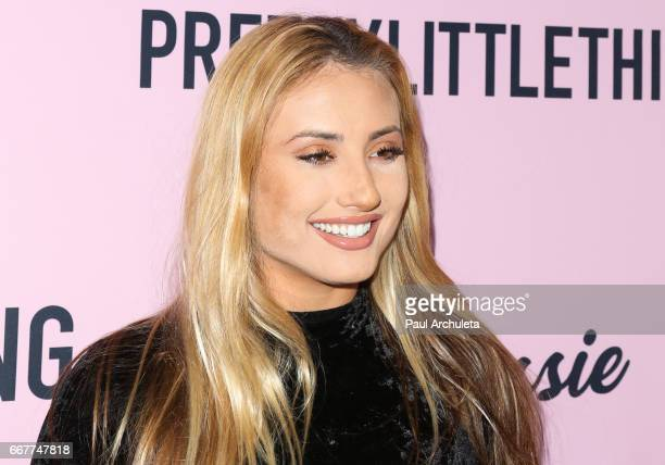 Singer Montana Tucker attends the 'PrettyLittleThing' campaign launch on April 11 2017 in Los Angeles California