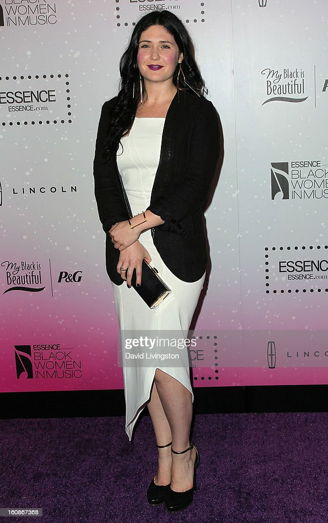 Singer Morgan Kibby attends the 4th Annual ESSENCE Black Women In Music honoring Lianne La Havas and Solange Knowles at Greystone Manor Supperclub on February 6, 2013 in West Hollywood, California.