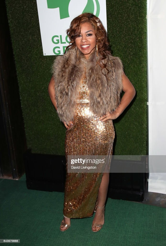 Singer Moria Moore attends the 14th Annual Global Green Pre-Oscar Gala at TAO Hollywood on February 22, 2017 in Los Angeles, California.