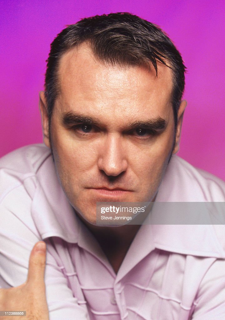 Singer Morrissey Photo Session in San Francisco 1997