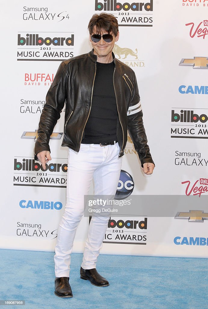 Singer Morten Harket poses in the press room at the 2013 Billboard Music Awards at MGM Grand Garden Arena on May 19, 2013 in Las Vegas, Nevada.