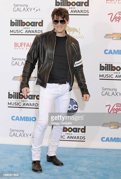 Singer Morten Harket poses in the press room at the 2013 Billboard Music Awards at MGM Grand Garden Arena on May 19 2013 in Las Vegas Nevada