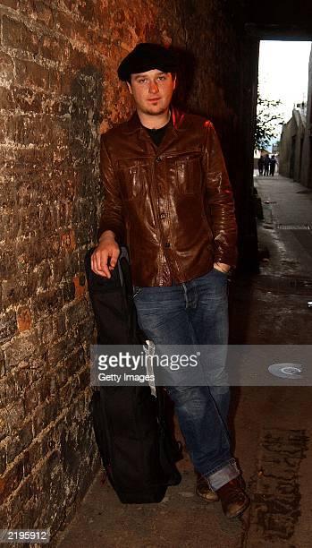 Singer Mundy attends the Lisoonvarna 2003 festival held at RDS Dublin July 24 2003 in Dublin Ireland