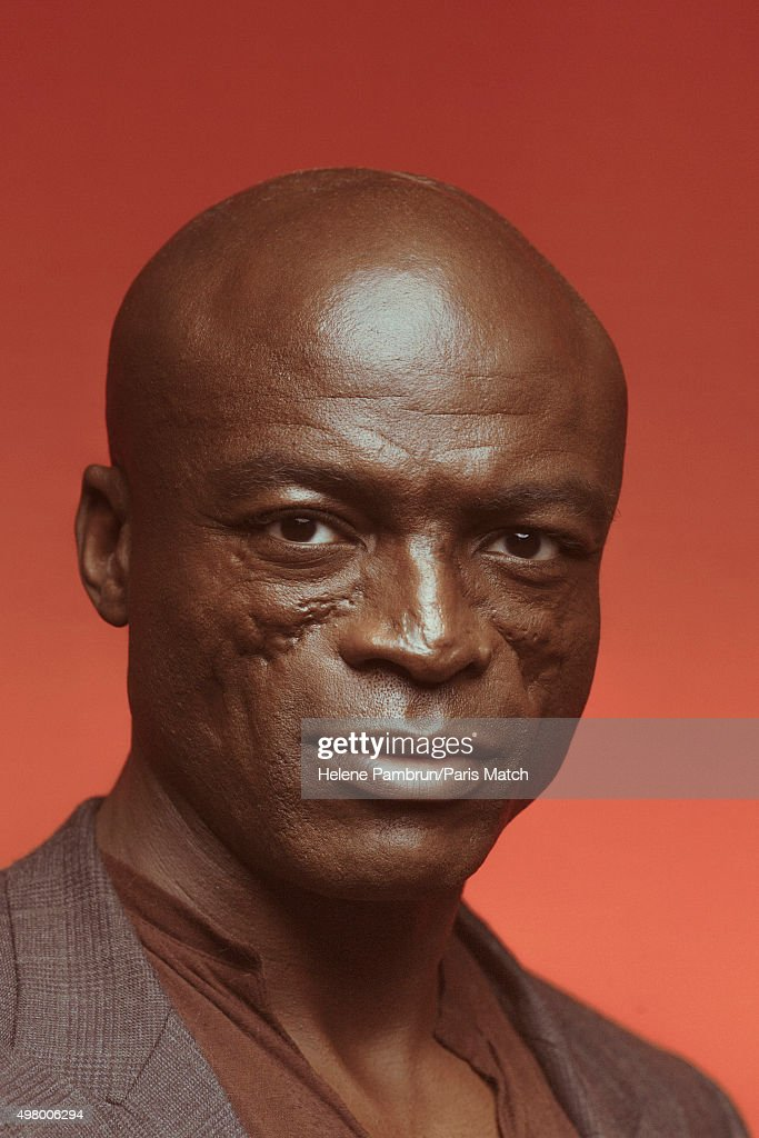 Singer & musician <a gi-track='captionPersonalityLinkClicked' href=/galleries/search?phrase=Seal+-+Singer&family=editorial&specificpeople=202832 ng-click='$event.stopPropagation()'>Seal</a> is photographed for Paris Match on November 29, 2015 in Paris, France.