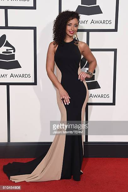 Singer Mya attends The 58th GRAMMY Awards at Staples Center on February 15 2016 in Los Angeles California