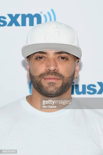 Singer Nacho visits SiriusXM Studios on August 21 2017 in New York City