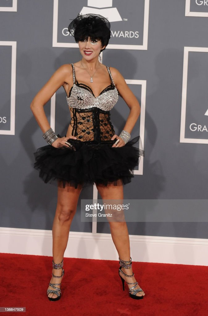 Singer Nadeea arrives at The 54th Annual GRAMMY Awards at Staples Center on February 12, 2012 in Los Angeles, California.