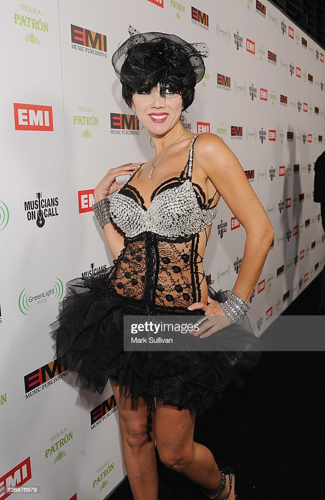 Singer Nadeea attends the EMI Post-GRAMMY Party held at The Capitol Tower at Capitol Records Tower on February 12, 2012 in Los Angeles, California.