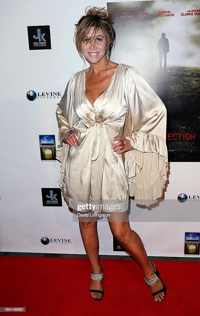 Singer Nadeea Volianova attends the premiere of 'A Resurrection' at ArcLight Sherman Oaks on March 19, 2013 in Sherman Oaks, California.