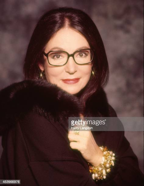 Singer Nana Mouskouri poses for a portrait in 1992 in Los Angeles California