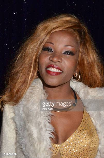 Singer Nancy Murillo attends the 'Paris Latino' Marlene Mourreau's Show Premiere at the Cabaret La Nouvelle Eve on November 4 2011 Paris France