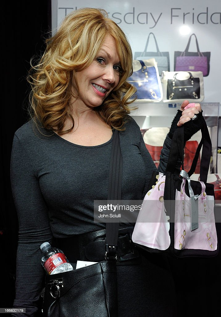 Singer Nancy Wilson attends the Gift Lounge at the 28th Rock and Roll Hall of Fame Induction Ceremony presented by I Can't Believe It's Not Butter! 'Breakfast After Dark' produced by On 3 Productions at Nokia Theatre L.A. Live on April 17, 2013 in Los Angeles, California.