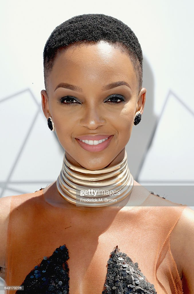 Singer Nandi Mngoma attends the 2016 BET Awards at the Microsoft Theater on June 26, 2016 in Los Angeles, California.