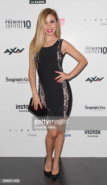 Singer Natalia Rodriguez attends the 'Lifestyle awards' photocall at Barcelo theatre on June 8 2016 in Madrid Spain