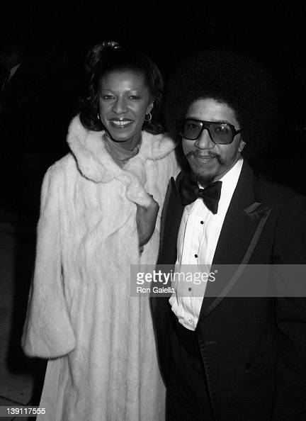 Singer Natalie Cole and Marvin Yancy attend 21st Annual Grammy Awards on September 15 1979 at the Shrine Auditorium in Los Angeles California