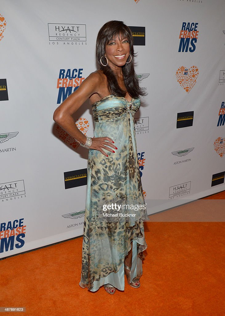 Singer <a gi-track='captionPersonalityLinkClicked' href=/galleries/search?phrase=Natalie+Cole&family=editorial&specificpeople=201839 ng-click='$event.stopPropagation()'>Natalie Cole</a> attends the 21st annual Race to Erase MS at the Hyatt Regency Century Plaza on May 2, 2014 in Century City, California.