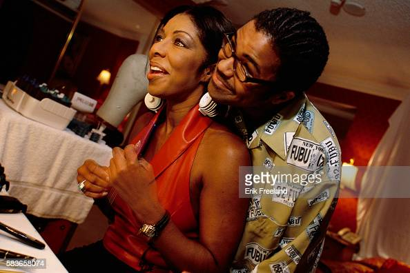 Singer natalie cole spends time with her son robbie yancy before a