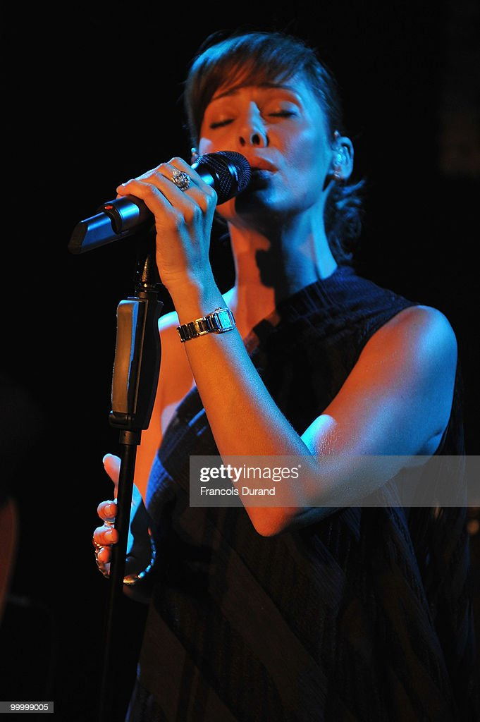 Singer Natalie Imbruglia performs at the Replay Party during the 63rd Annual Cannes Film Festival at the Star Style Lounge on May 19, 2010 in Cannes, France.