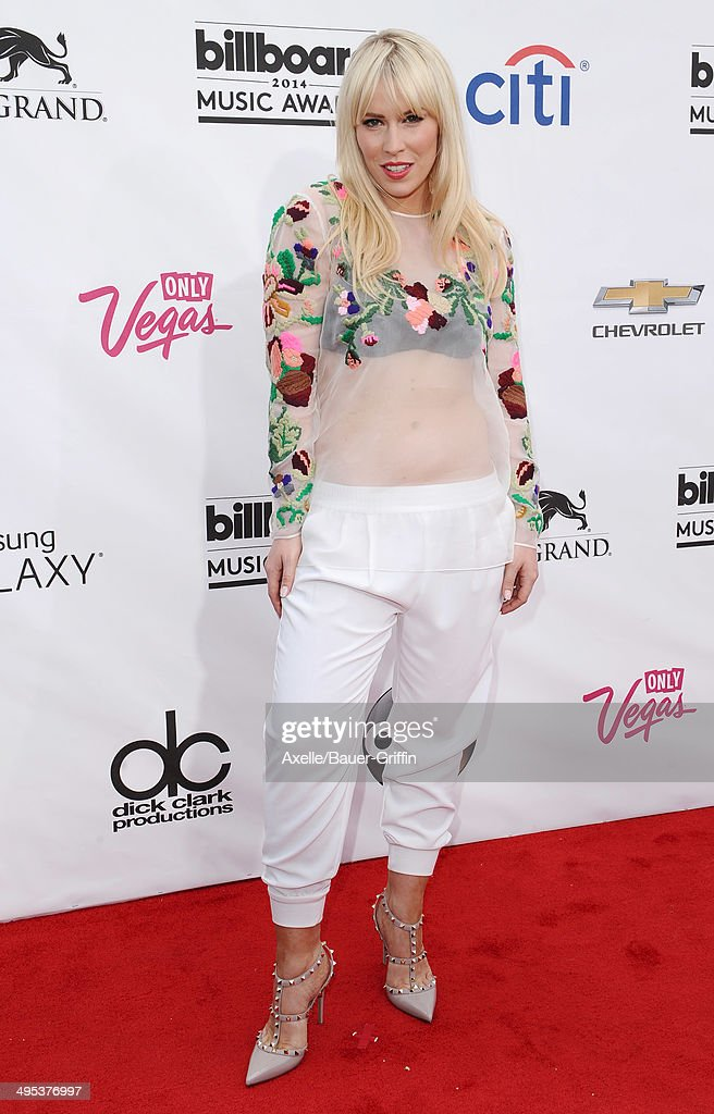 Singer Natasha Bedingfield arrives at the 2014 Billboard Music Awards at the MGM Grand Garden Arena on May 18, 2014 in Las Vegas, Nevada.