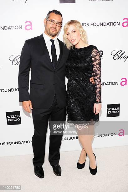 Singer Natasha Bedingfield arrives at the 20th Annual Elton John AIDS Foundation Academy Awards Viewing Party at The City of West Hollywood Park on...