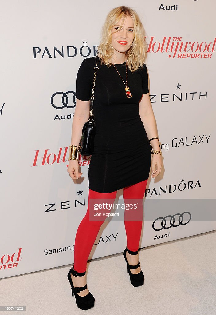 Singer <a gi-track='captionPersonalityLinkClicked' href=/galleries/search?phrase=Natasha+Bedingfield&family=editorial&specificpeople=171728 ng-click='$event.stopPropagation()'>Natasha Bedingfield</a> arrives at The Hollywood Reporter Nominees' Night 2013 Celebrating 85th Annual Academy Award Nominees at Spago on February 4, 2013 in Beverly Hills, California.