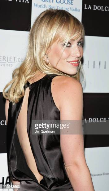Singer Natasha Bedingfield arrives at the La Dolce Vita Benefit for the Sarah Ferguson Foundation at Cipriani Wall Street on November 1 2007 in New...