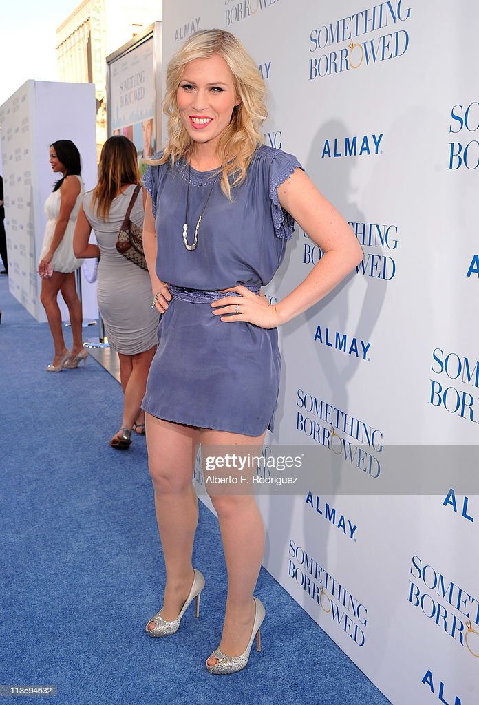 Singer Natasha Bedingfield arrives at the premiere of Warner Bros. 'Something Borrowed' held at Grauman's Chinese Theatre on May 3, 2011 in Hollywood, California.