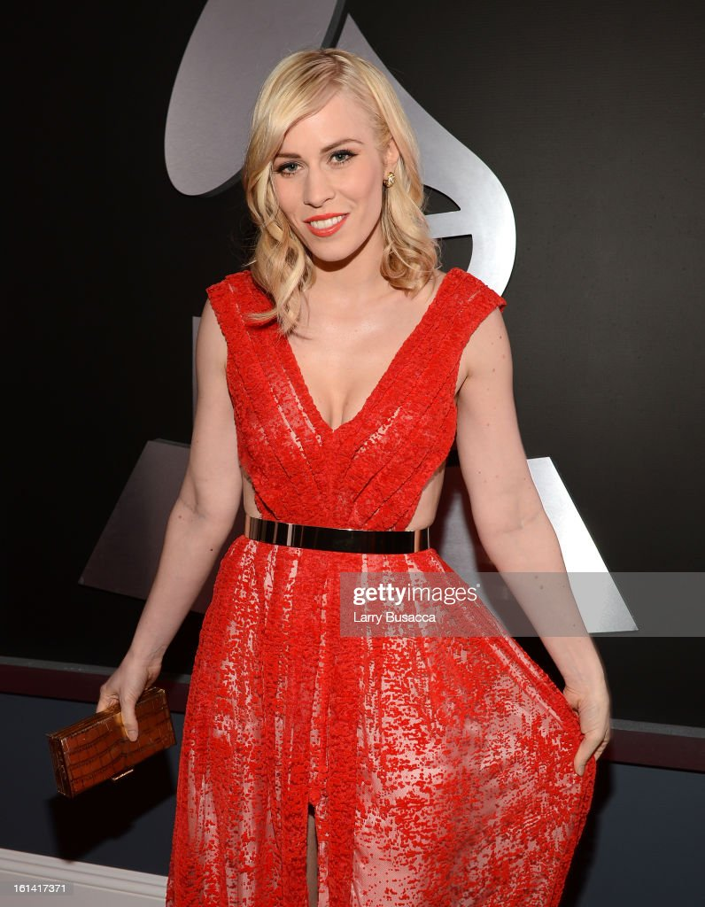 Singer Natasha Bedingfield attends the 55th Annual GRAMMY Awards at STAPLES Center on February 10, 2013 in Los Angeles, California.
