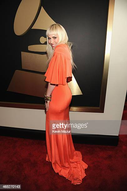 Singer Natasha Bedingfield attends the 56th GRAMMY Awards at Staples Center on January 26 2014 in Los Angeles California