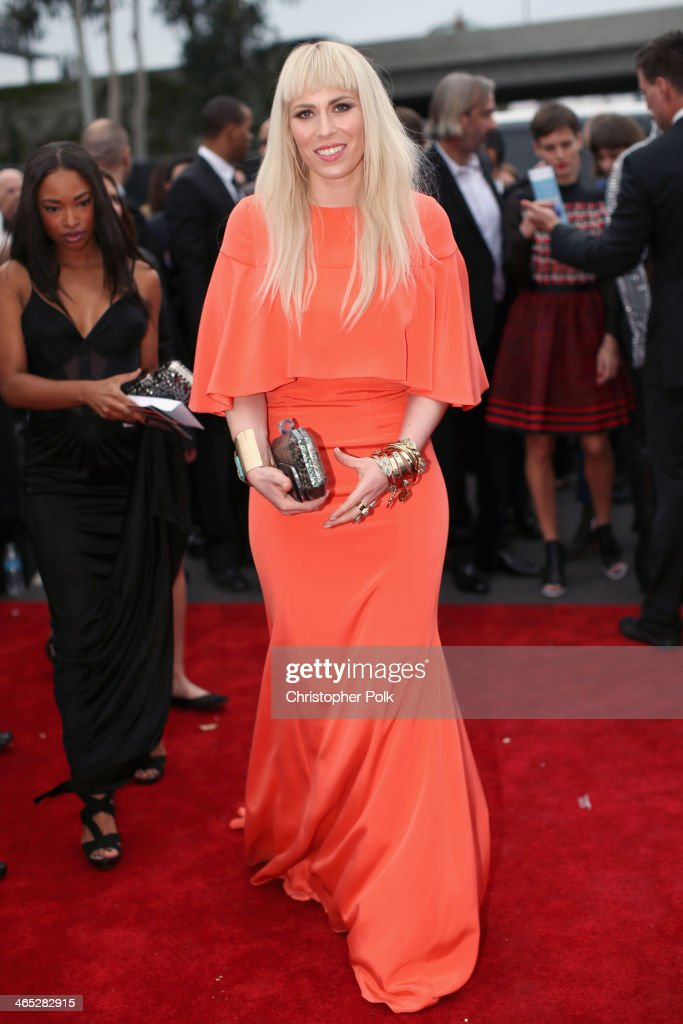 Singer Natasha Bedingfield attends the 56th GRAMMY Awards at Staples Center on January 26, 2014 in Los Angeles, California.