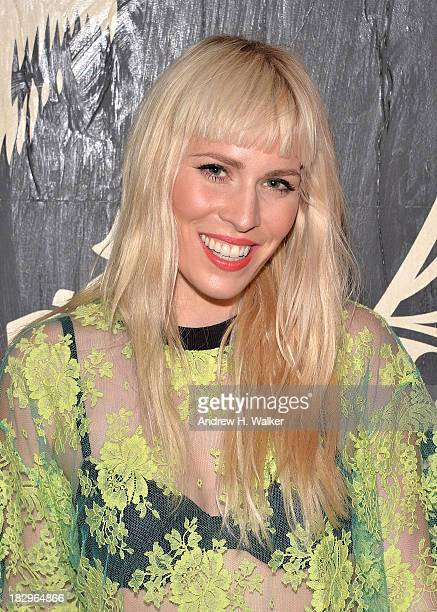 Singer Natasha Bedingfield attends The Cinema Society Tommy Hilfiger screening of 'The Inevitable Defeat of Mister Pete' after party at Jungle City...