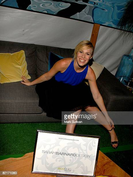 Singer Natasha Bedingfield attends the Mattel Celebrity Retreat produced by Backstage Creations at Teen Choice 2008 on August 3 2008 in Universal...