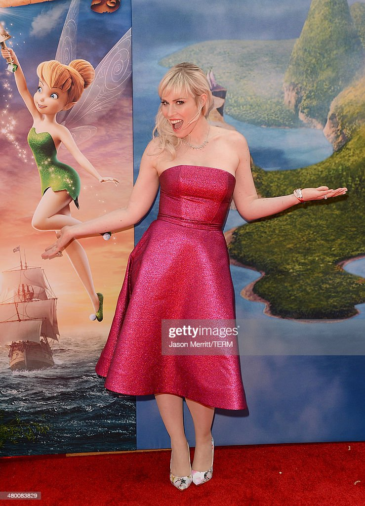 Singer <a gi-track='captionPersonalityLinkClicked' href=/galleries/search?phrase=Natasha+Bedingfield&family=editorial&specificpeople=171728 ng-click='$event.stopPropagation()'>Natasha Bedingfield</a> attends the premiere of DisneyToon Studios' 'The Pirate Fairy' at Walt Disney Studios on March 22, 2014 in Burbank, California.