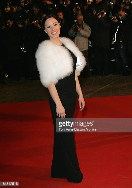 Singer Natasha St Pier arrives at the 10th annual NRJ Music Awards held at the Palais des Festivals on January 17 2009 in Cannes France