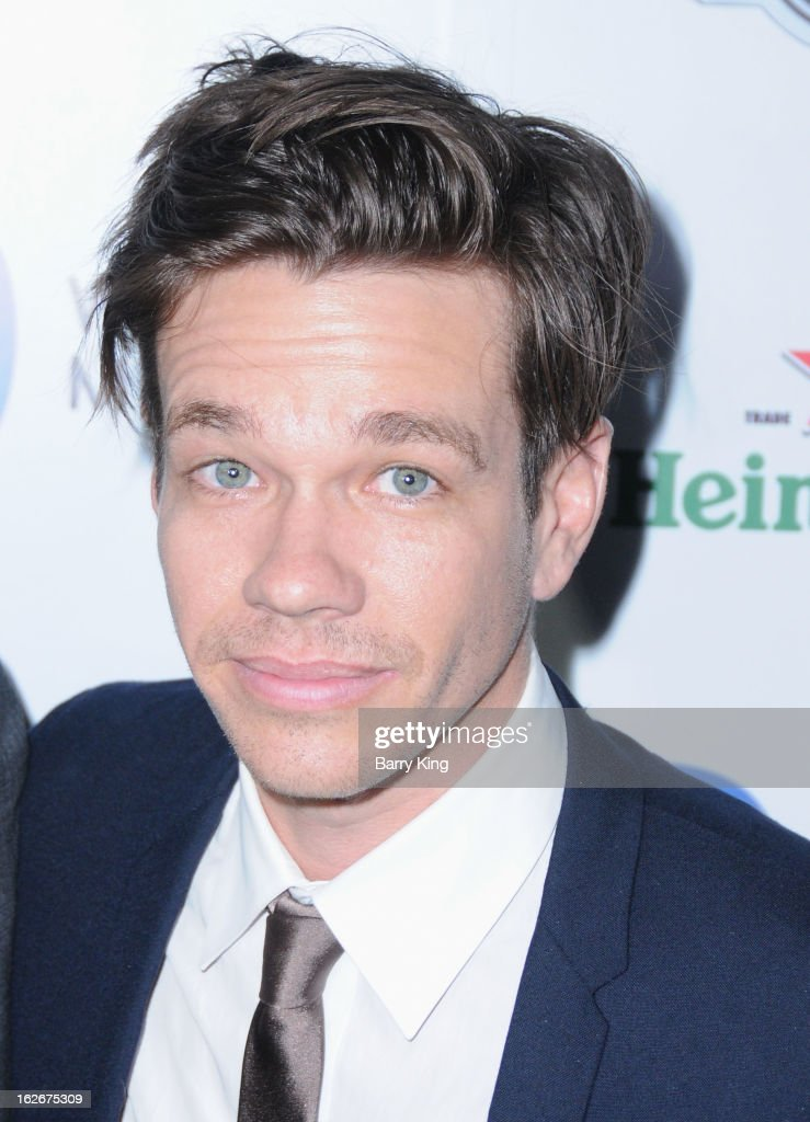 Singer <a gi-track='captionPersonalityLinkClicked' href=/galleries/search?phrase=Nate+Ruess&family=editorial&specificpeople=6897270 ng-click='$event.stopPropagation()'>Nate Ruess</a> of band fun. attends the Warner Music Group 2013 Grammy celebration at Chateau Marmont on February 10, 2013 in Los Angeles, California.