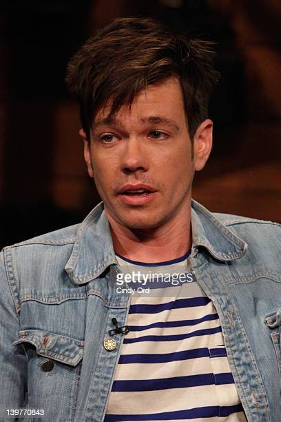 Singer Nate Ruess of Fun visits fuse Studios on February 24 2012 in New York City