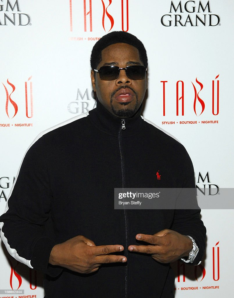 Singer Nathan Morris of Boyz II Men arrives at Tabu at the MGM Grand Hotel/Casino for a New Year's Eve appearance on December 31, 2012 in Las Vegas, Nevada.