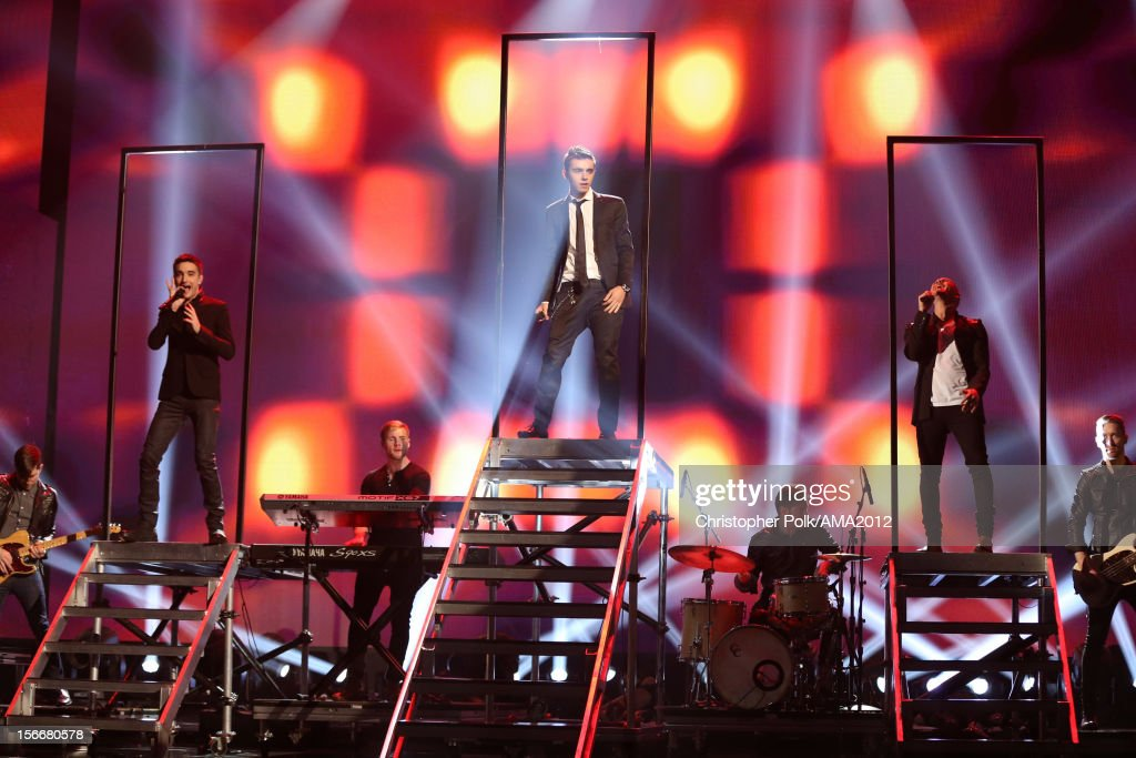 Singer <a gi-track='captionPersonalityLinkClicked' href=/galleries/search?phrase=Nathan+Sykes&family=editorial&specificpeople=7039809 ng-click='$event.stopPropagation()'>Nathan Sykes</a> of The Wanted performs onstage during the 40th American Music Awards held at Nokia Theatre L.A. Live on November 18, 2012 in Los Angeles, California.