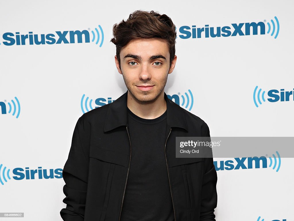 Singer Nathan Sykes visits the SiriusXM Studios on July 29, 2016 in New York City.