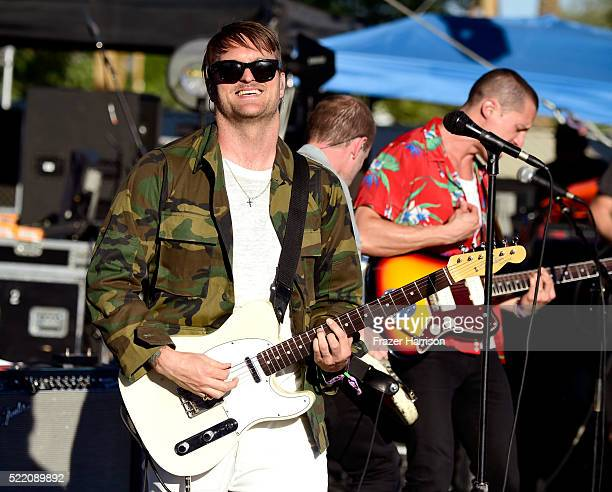 Singer Nathan Willett of Cold War Kids performs onstage during day 3 of the 2016 Coachella Valley Music And Arts Festival Weekend 1 at the Empire...