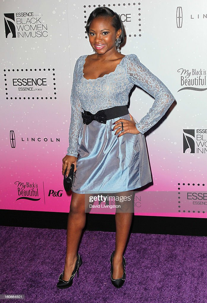 Singer Naturi Naughton attends the 4th Annual ESSENCE Black Women In Music honoring Lianne La Havas and Solange Knowles at Greystone Manor Supperclub on February 6, 2013 in West Hollywood, California.