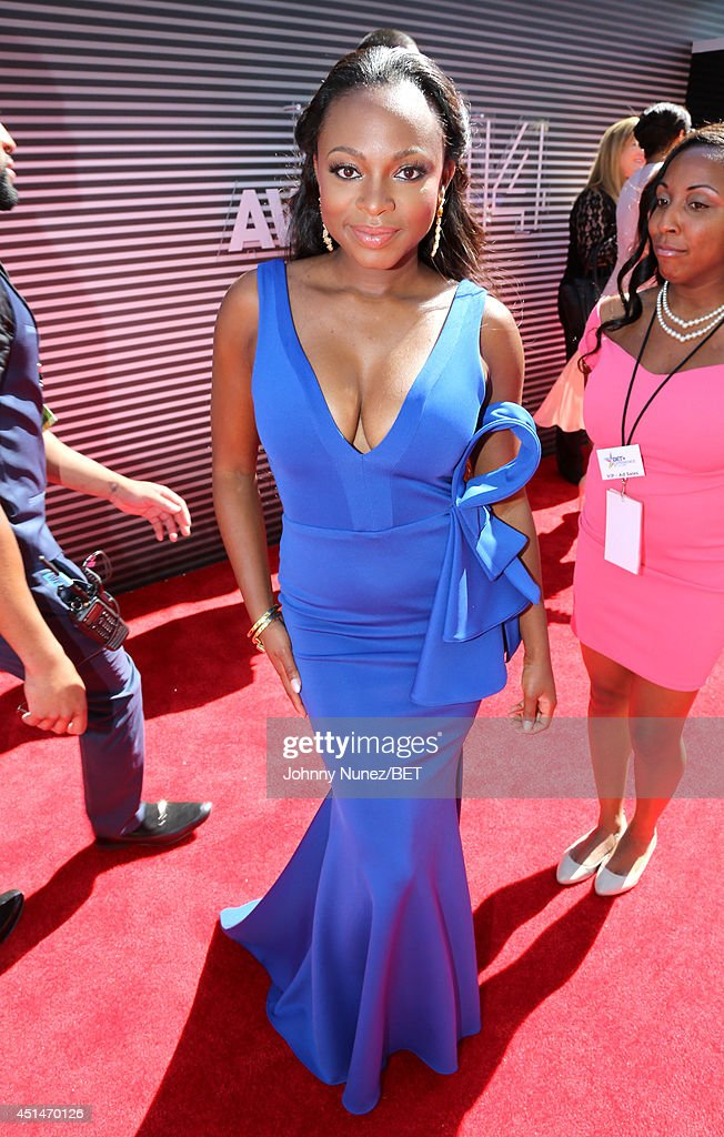 Singer Naturi Naughton attends the BET AWARDS '14 at Nokia Theatre LA LIVE on June 29 2014 in Los Angeles California