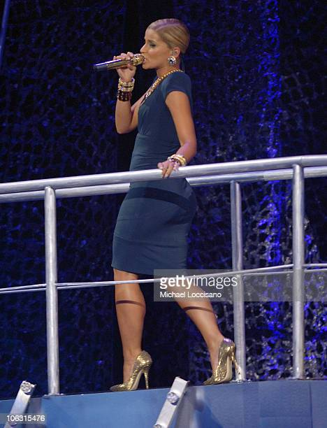 Singer Nelly Furtado on stage during the 2007 Vh1 Hip Hop Honors at Hammerstein Ballroom on October 4 2007 in New York City