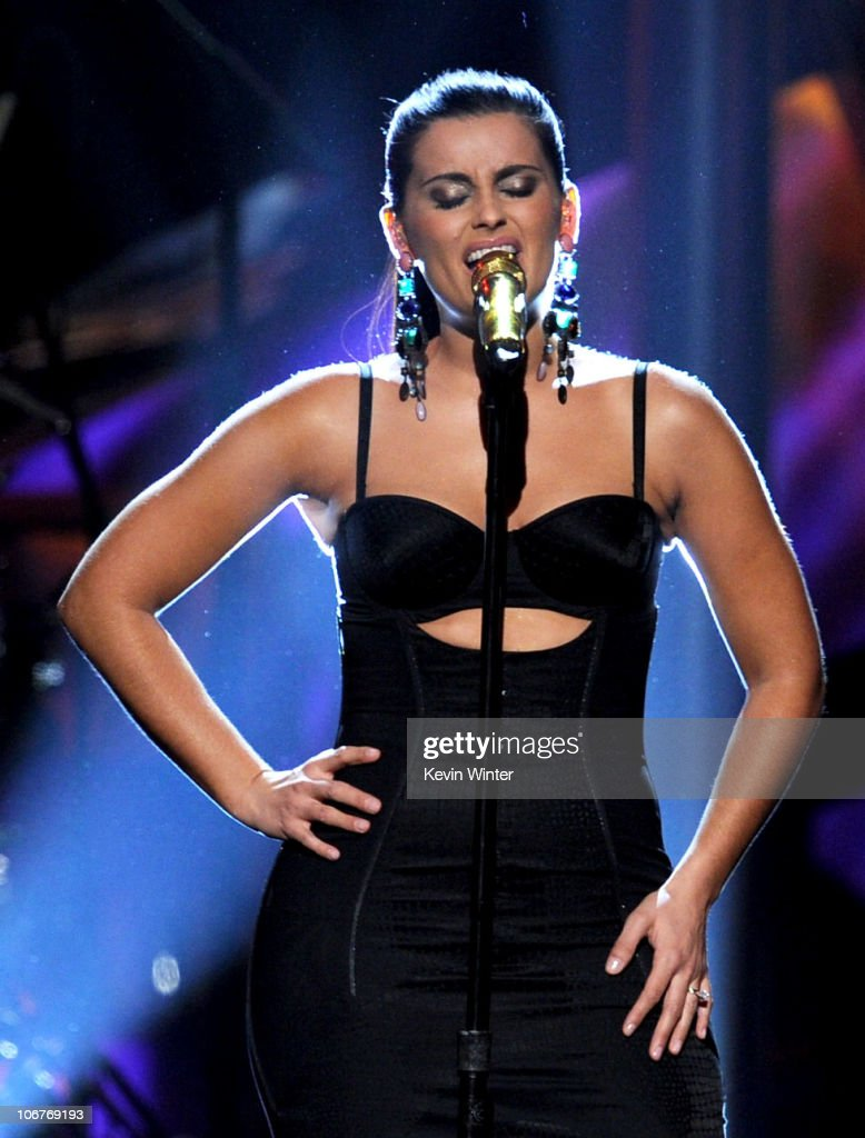 Singer Nelly Furtado performs onstage during the 11th annual Latin GRAMMY Awards at the Mandalay Bay Events Center on November 11, 2010 in Las Vegas, Nevada.