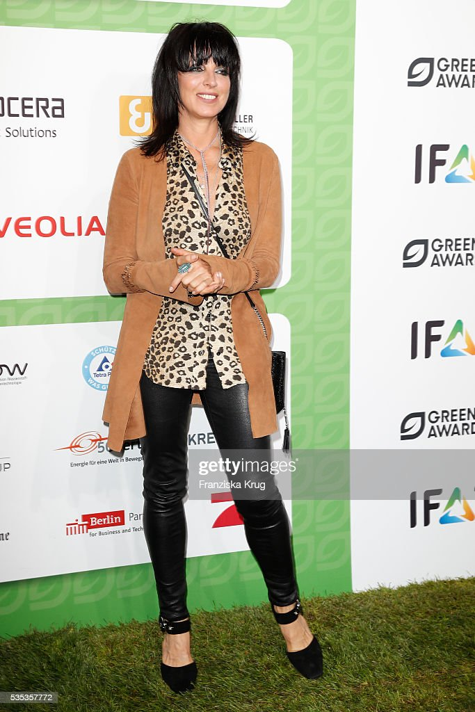 Singer <a gi-track='captionPersonalityLinkClicked' href=/galleries/search?phrase=Nena+-+Singer&family=editorial&specificpeople=14019354 ng-click='$event.stopPropagation()'>Nena</a> attends the Green Tec Award at ICM Munich on May 29, 2016 in Munich, Germany.