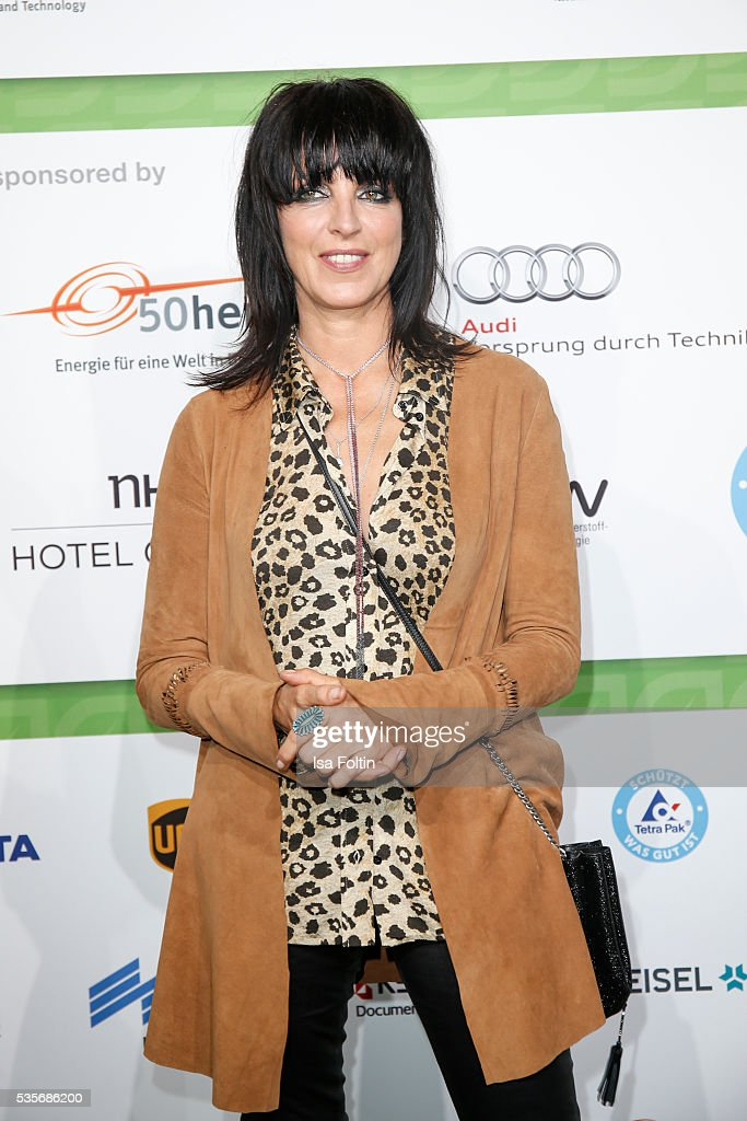 Singer <a gi-track='captionPersonalityLinkClicked' href=/galleries/search?phrase=Nena+-+Zangeres&family=editorial&specificpeople=14019354 ng-click='$event.stopPropagation()'>Nena</a> attends the Green Tec Award at ICM Munich on May 29, 2016 in Munich, Germany.