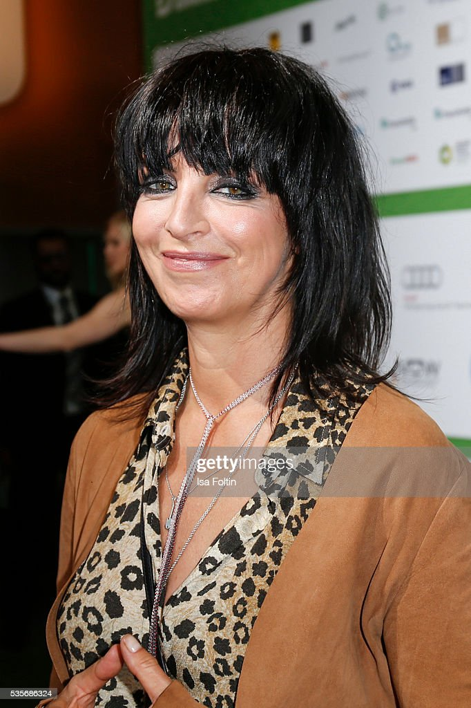 Singer Nena attends the Green Tec Award at ICM Munich on May 29, 2016 in Munich, Germany.