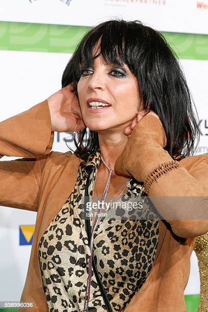 Singer Nena attends the Green Tec Award at ICM Munich on May 29 2016 in Munich Germany