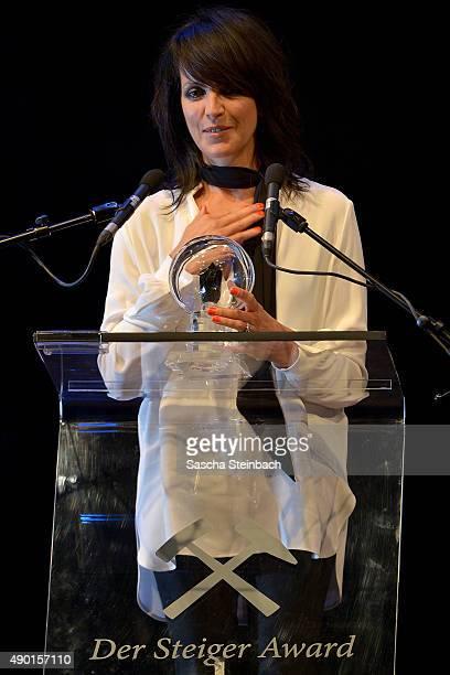 Singer Nena attends the 'Steiger Award 2015' at colliery Hansemann on September 26 2015 in Dortmund Germany