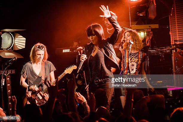 Singer Nena performs live on stage during a concert at SO36 on March 4 2015 in Berlin Germany